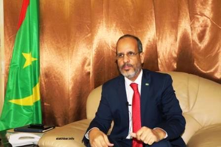 وزير التهذيب الوطني والتكوين التقني والإصلاح محمد ماء العينين ولد أييه أن قطاعه أكمل كل الاستعدادات