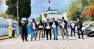 الطلاب الموريتانيون في تونس يحتجون للمطالبة بصرف منحهم