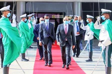 ولد الغزواني نواكشوط مساء اليوم متوجها إلى غينيا بيساو