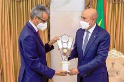 الغزواني يستقبل المدير العام للأليسكو