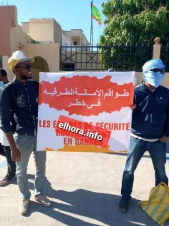 طواقم السلامة الطرقية يودعون إشعارا بالإضراب لدى وزارة الصحة