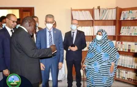 المدير العام للمنظمة العربية للتربية والثقافة والعلوم (الاليسكو) السيد محمد ولد أعمر