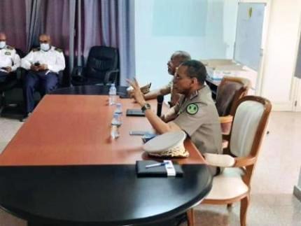 الفريق مسغارو يترأس اجتماعاً لتدارس الوضعية الأمنية في نواكشوط
