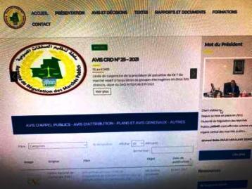 أكدت لجنة تنظيم الصفقات العمومية  قبل قليل قرار لجنة الصفقات بشركة صوملك