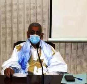 رئيس حزب الاتحاد من أجل الجمهورية سيدي محمد الطالب أعمر